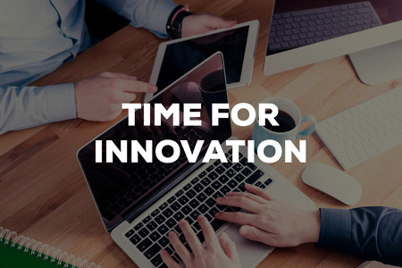 innovation concept: TIME FOR INNOVATION CONCEPT