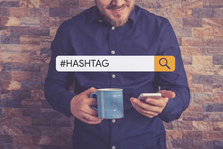 #HASHTAG Concept Foto de archivo
