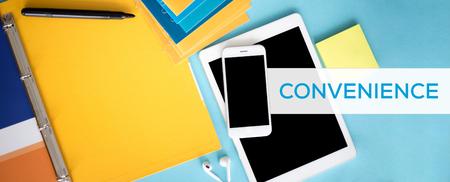 user friendly: CONVENIENCE CONCEPT Stock Photo