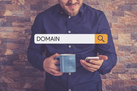 DOMAIN Concept Stock Photo