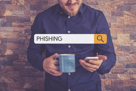 phishing: PHISHING Concept