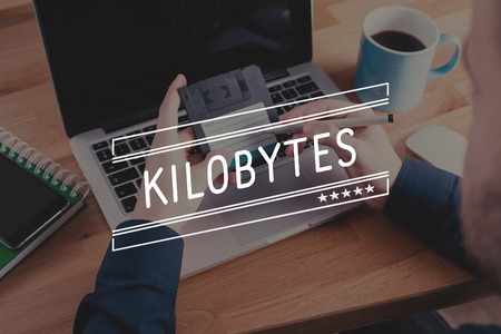 megabytes: KILOBYTES Concept