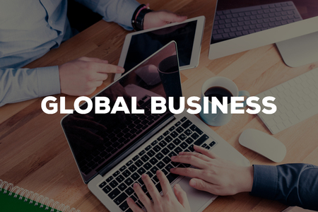 business globe: GLOBAL BUSINESS CONCEPT