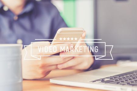 popularity: VIDEO MARKETING Concept