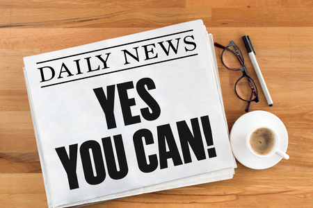 tu puedes: YES YOU CAN!