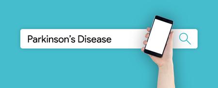 WEB SEARCH: PARKINSONS DISEASE CONCEPT
