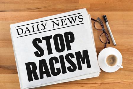 racismo: STOP RACISM