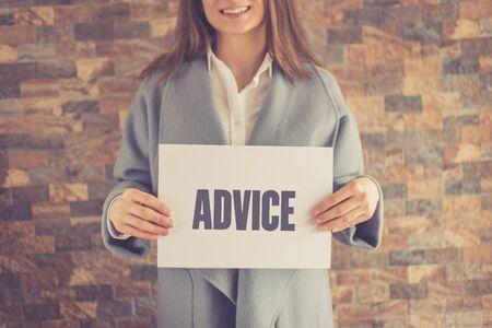 advice: ADVICE CONCEPT