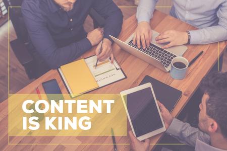 Il contenuto è re CONCEPT