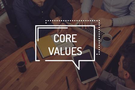 core strategy: CORE VALUES CONCEPT