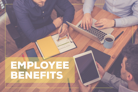 EMPLOYEE BENEFITS CONCEPT Фото со стока - 71720131