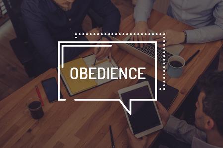 obediencia: OBEDIENCE CONCEPT