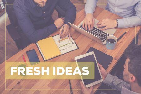 negocios comida: FRESH IDEAS CONCEPT