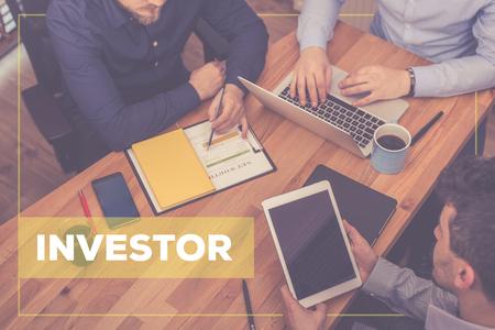 投資コンセプト 写真素材