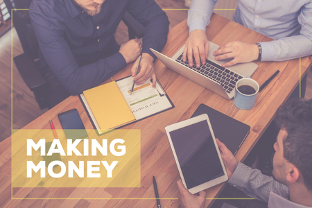 making money: MAKING MONEY CONCEPT