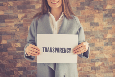 uncover: TRANSPARENCY CONCEPT Stock Photo