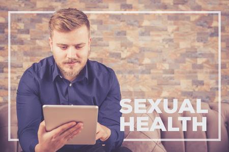 SEXUAL HEALTH CONCEPT Stock Photo