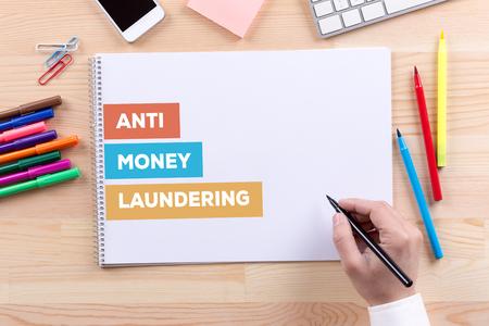 ANTI MONEY LAUNDERING CONCEPT