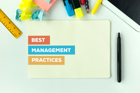 best practices: BEST MANAGEMENT PRACTICES CONCEPT