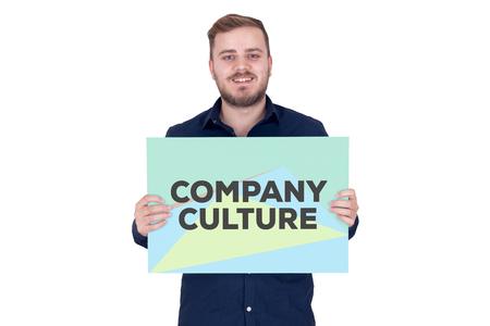 culture: COMPANY CULTURE CONCEPT Stock Photo