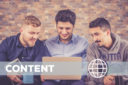 outbound: Content Technology Concept