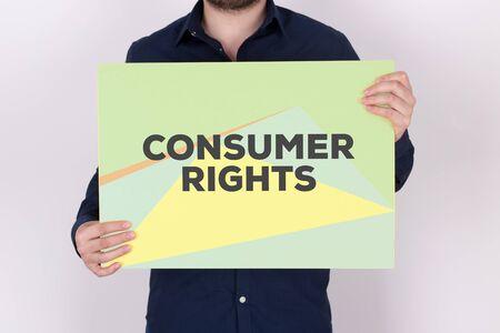 consumer: CONSUMER RIGHTS CONCEPT