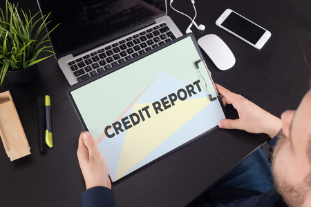 borrowing: CREDIT REPORT CONCEPT