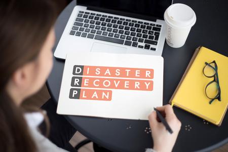 Disaster Recovery Plan Acronmy Banco de Imagens