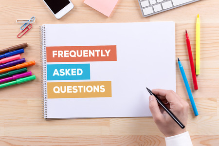 questions: FREQUENTLY ASKED QUESTIONS CONCEPT