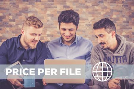 hypothec: Price Per File Technology Concept