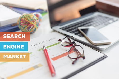 keyword research: SEARCH ENGINE MARKET CONCEPT