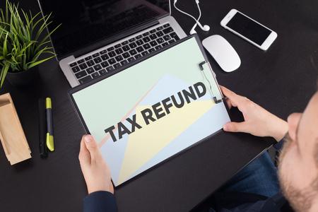 TAX REFUND CONCEPT