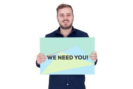 WE NEED YOU! CONCEPT