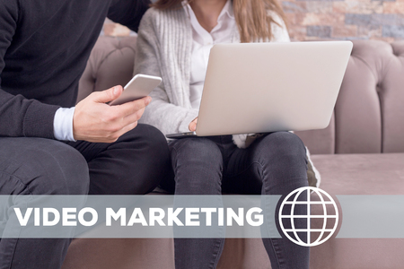 popularity: Video Marketing Technology Concept