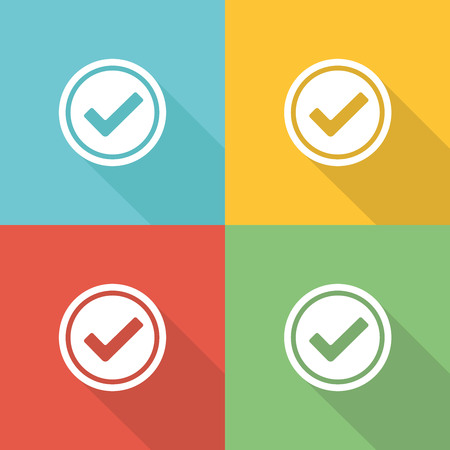 Compliance Flat Icon Concept