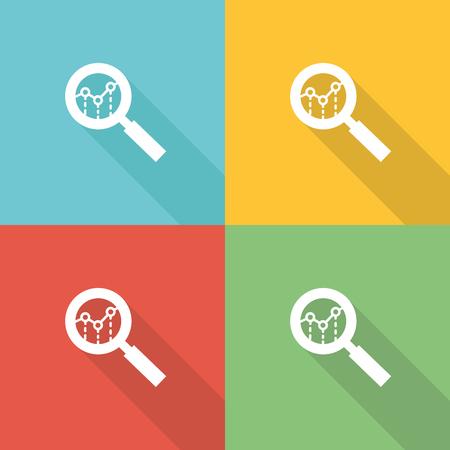 Evaluation Flat Icon Concept