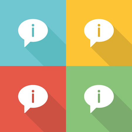 Advice Flat Icon Concept Illustration