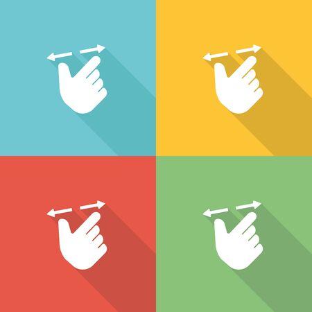 Constraint Flat Icon Concept Illustration