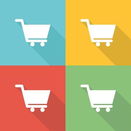 consumer: Consumer Flat Icon Concept