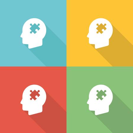 Behavior Flat Icon Concept