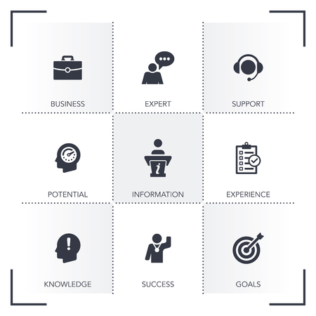 CONSULTING ICON SET
