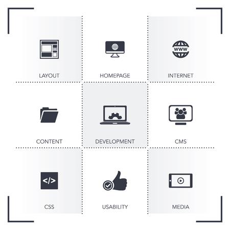 design: WEB DESIGN ICON SET