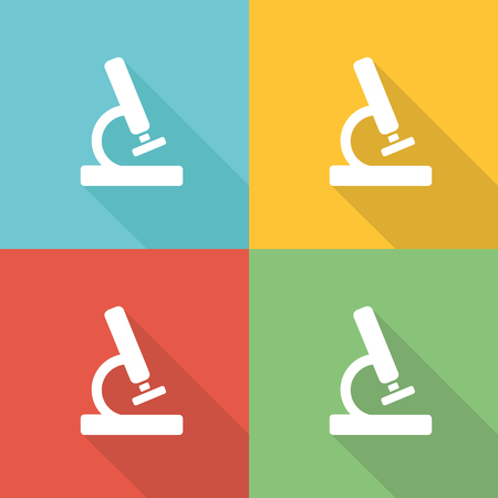 Market Research Flat Icon Concept