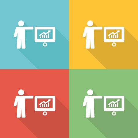 mentor: Mentor Flat Icon Concept