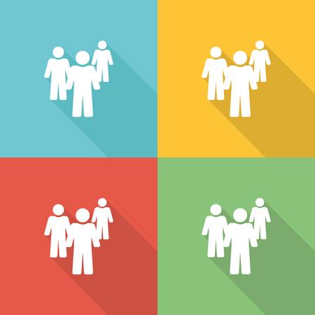 Language Flat Icon Concept