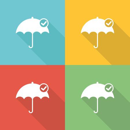 Tutelage Flat Icon Concept Illustration