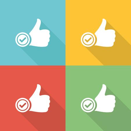 pledge: Pledge Flat Icon Concept