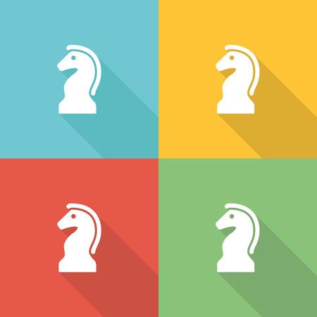 financial advice: Strategic Decisions Flat Icon Concept