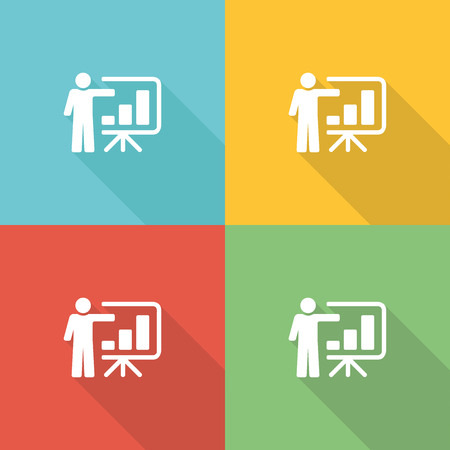 listeners: Teaching Flat Icon Concept