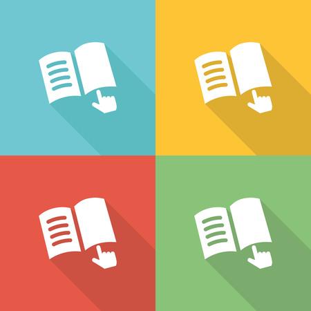 listeners: Teach Flat Icon Concept Illustration